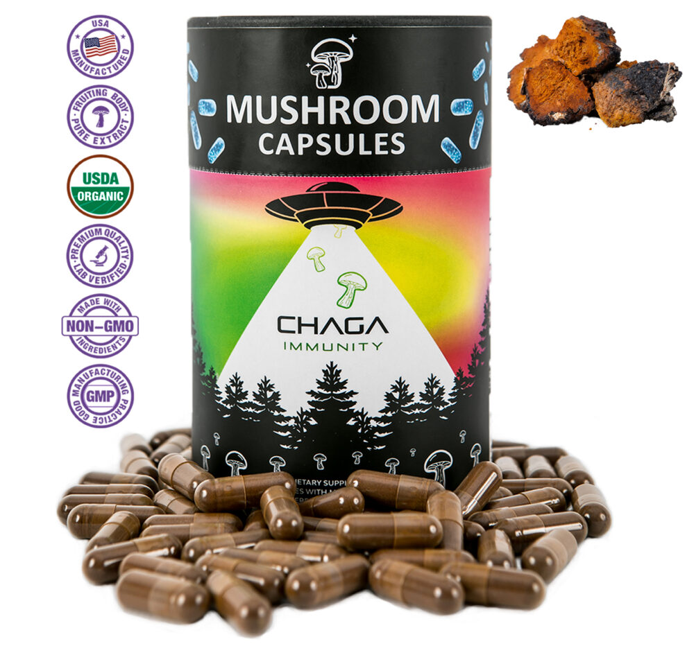 Explore Chaga one of the most researched mushrooms on the planet.
